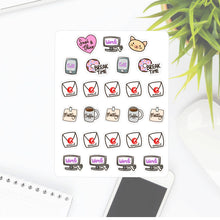 Office Work Sapi Planner Sticker