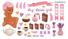 Day Dream Girl Planner Sticker