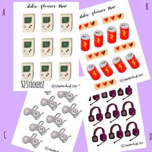 Gamer Girl Planner Sticker