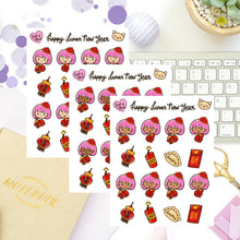 Lunar New Year Sapi Planner Stickers
