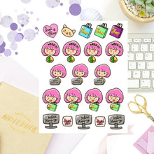 Shopping, Online Shopping Sapi Planner Sticker