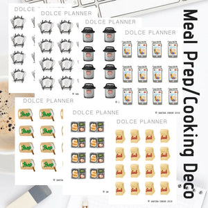 Cooking & Meal Prep stickers