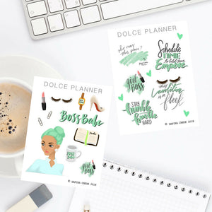 Boss Babe Planner Sticker