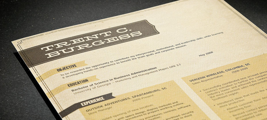 resume template human resources image - alamo tan