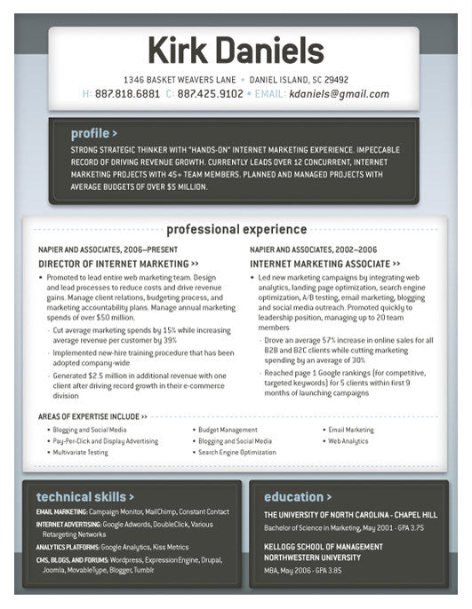 in or buy at collectionsloft resumesproductsbasel resume template blue grey save - Kellogg Resume Format