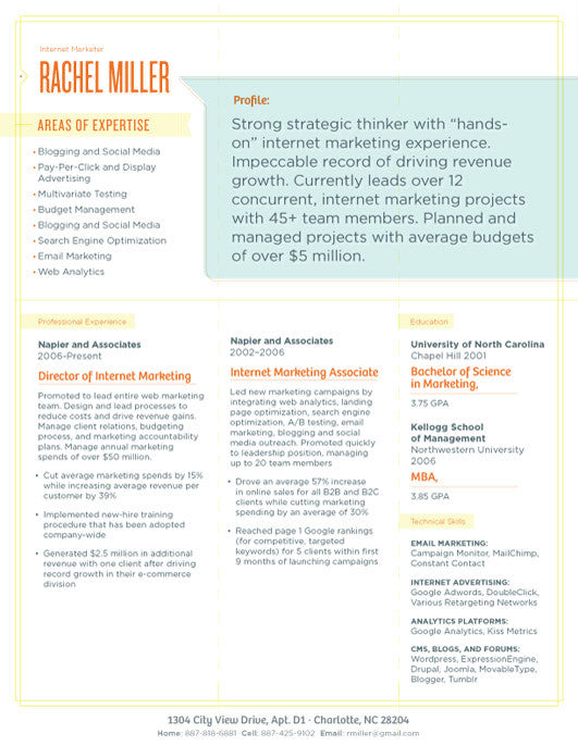 in or buy at collectionsloft resumesproductsbespoke resume template blue organge save