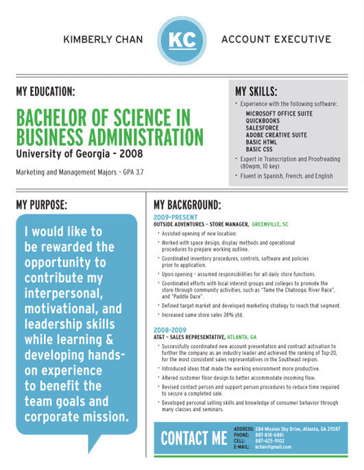 in or buy at collectionsloft resumesproductsdialogue mind resume template blue green