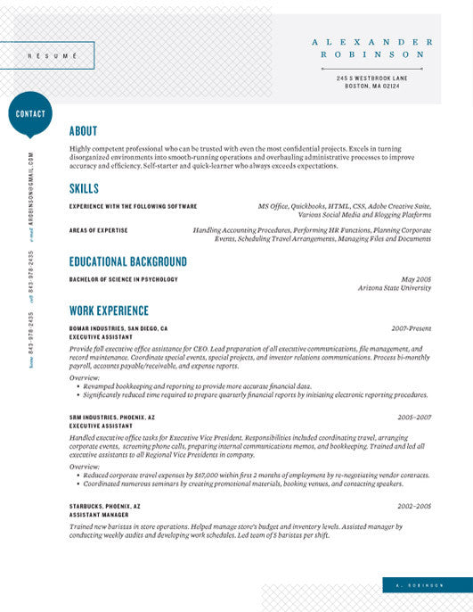 in or buy at collectionsloft resumesproductsshearling point resume template blue save - Corporate Resume Template
