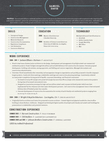resumes with picture