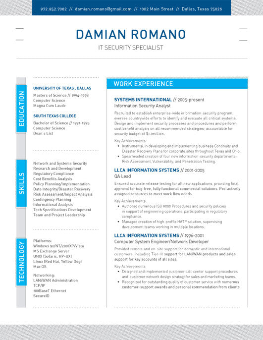 Resumes Without Photos Loft Resumes – Network Assessment Template