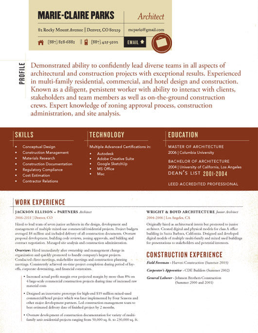 in or buy at collectionsloft resumesproductstraveler resume template maroon tan - Loft Resumes Free