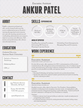 the resumes