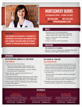 resumes with photos