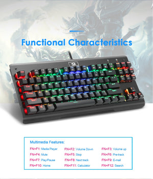 Redragon Mini Mechanical Gaming Keyboard