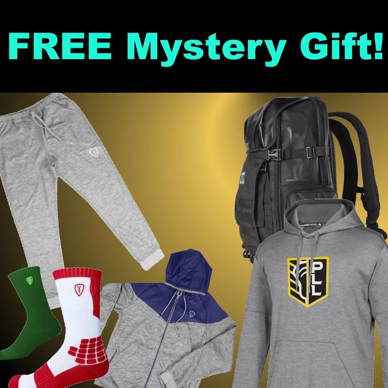 Free Premium Mystery Apparel - The Ultimate Holiday Bonus - Guaranteed Value From $20 - $100+!  Saturday & Sunday ONLY