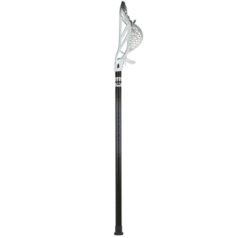 Element U-1 Lacrosse Pro Shaft - black with white Rekon head strung