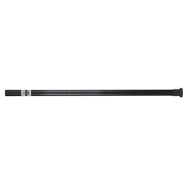 Element U-1 Lacrosse Pro Shaft - black horizontal view of full stick