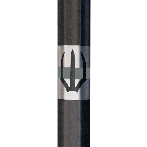Element U-1 Lacrosse Pro Shaft - black with trident logo