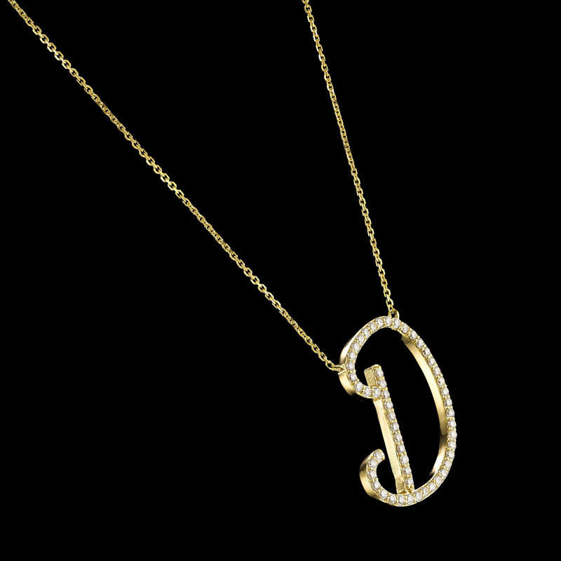 Glorious Initial Necklace