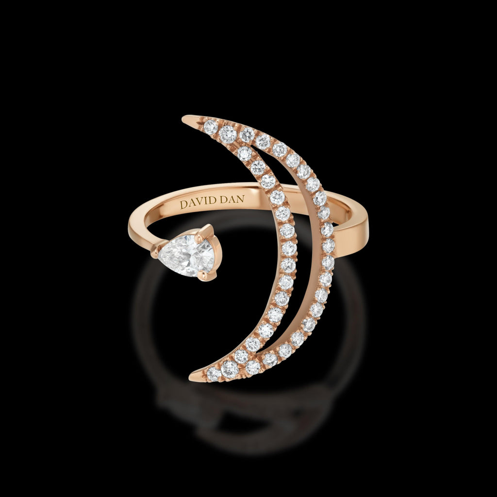 LUMINOUS 18K Rose Gold Diamond Ring