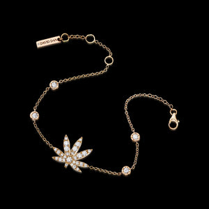 BLAZE 18K Rose Gold Diamond Bracelet