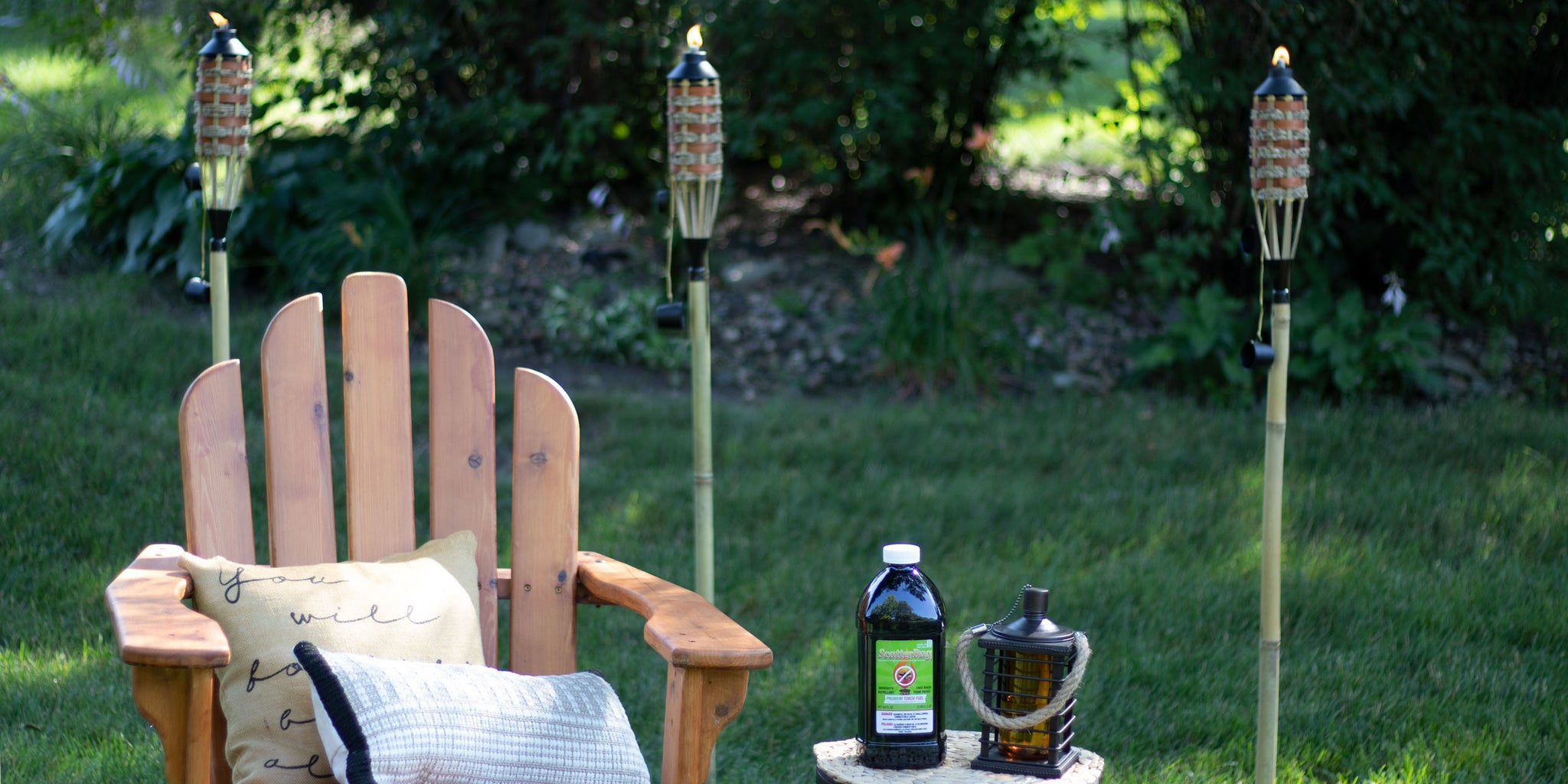How Well Does Scatterbug Torch Fuel Keep Mosquitoes Away? | Patio Essentials