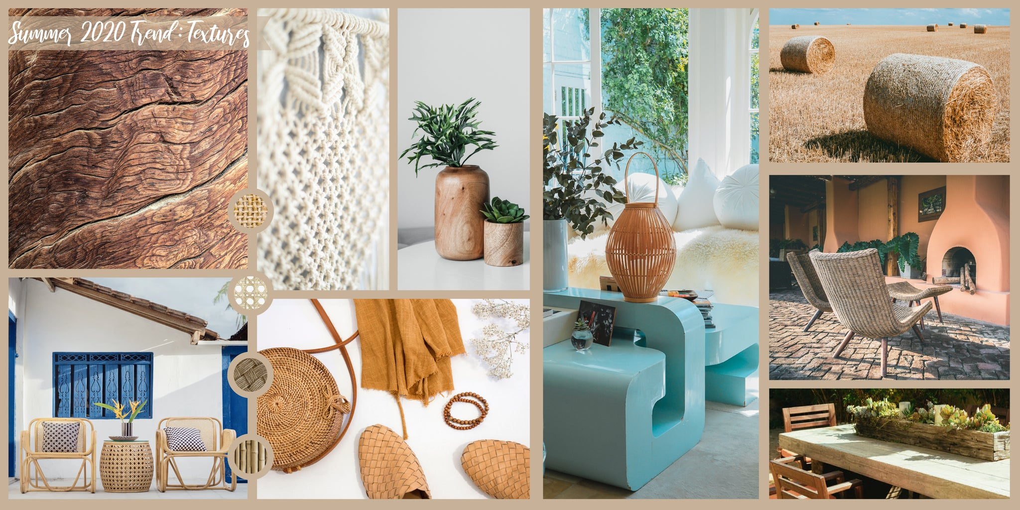 Summer 2020 Decor Trends: Texture | Patio Essentials