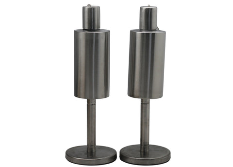 Cylinder Stainless Steel Table Top Torch, 2 Pack | Patio Essentials