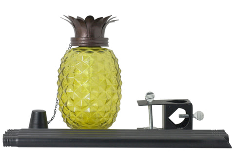 3-in-1 Glass Pineapple Torch | Patio Essentials