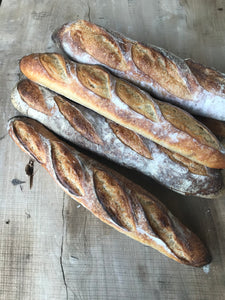 Forge house bakery traditional sourdough baguette