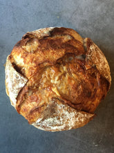 Load image into Gallery viewer, Cheese and marmite sourdough boule (Fri)