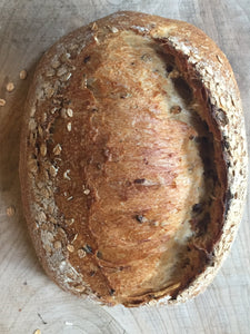 Malted wheat sourdough (Tue)