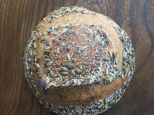 Multiseed sourdough