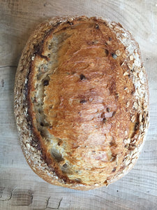Malted wheat sourdough