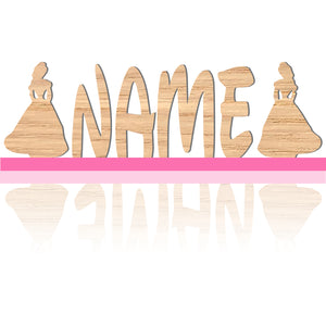 Wooden Bedroom Name Nursery Wall Signs