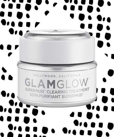 Glamglow Supermud image with text,