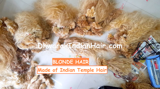 Blonde_Indian_Temple_Hair_Wholesale_Direct_Manufactuer_India