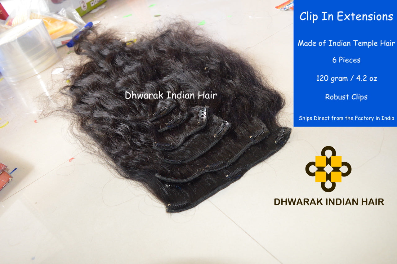 DHWARAK INDIAN HAIR Clip In Raw Hair Vendor Wholesale