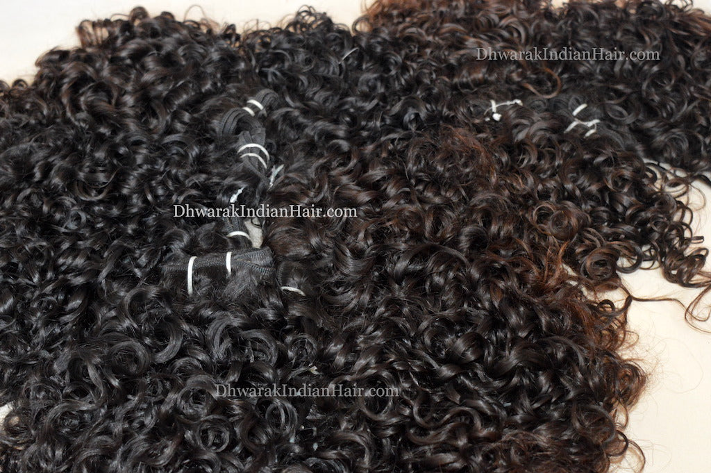 Raw Hair Vendor Dhwarak Indian Hair Best Seller Curly Bundles Wholesale Retail
