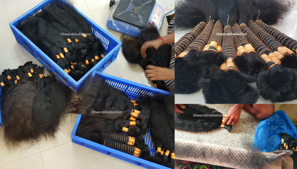 Dhwarak_Indian_Hair_Bulk_Hair_Wholesale_Factory_India