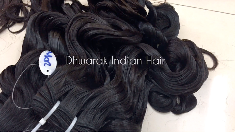 Raw Hair Vendor Dhwarak Indian Hair Best Seller Wavy Bundles Wholesale Distribution