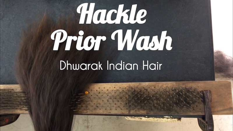 Raw Hair Vendor Wholesale Factory India Manufacturing Process