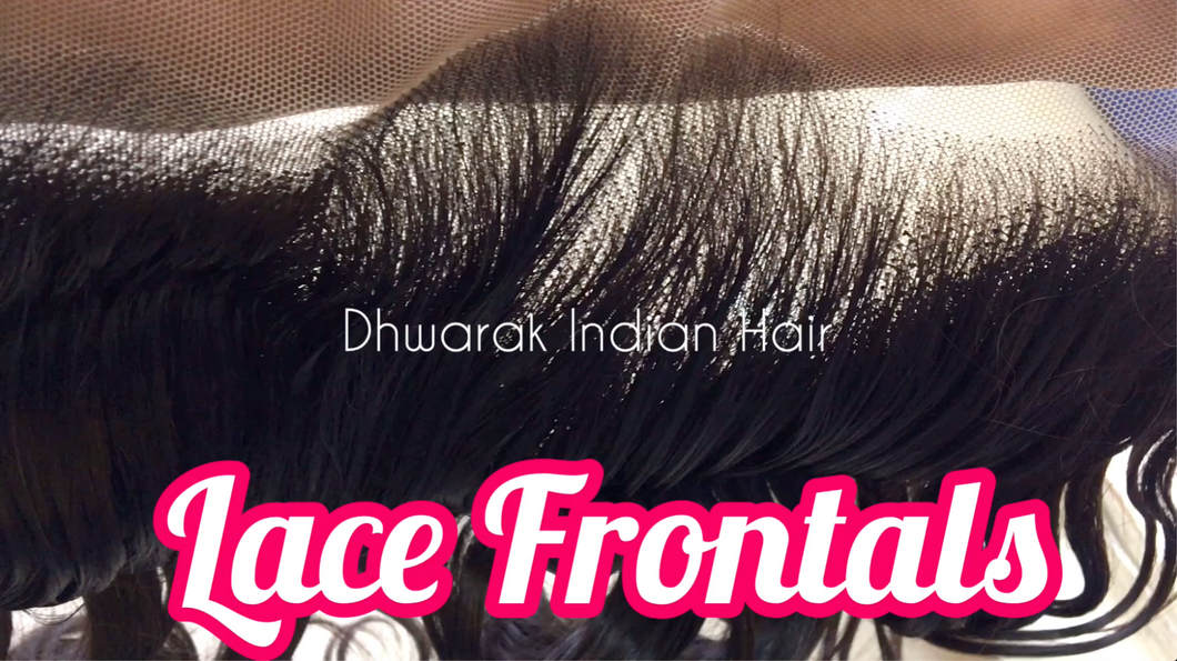 13*4 Transparent SWISS Lace Frontals