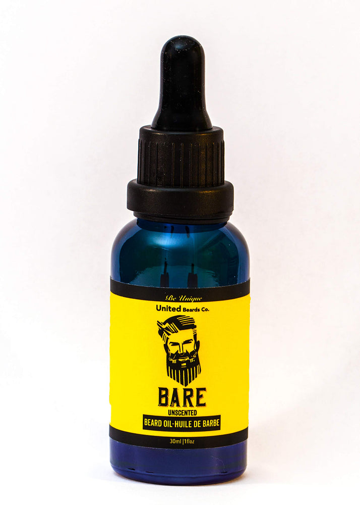 United Beards Company Bare Unscented Beard Oil