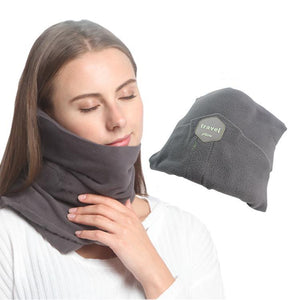 Neck Support Travel Pillows for Airplanes