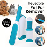 Pet Lint & Fur Remover Brush--50% OFF Today (bonus travel-size)