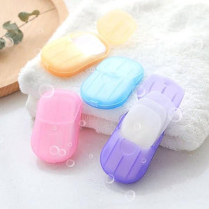 Portable Travel Washing Soap Sheets (BUY 10 FREE SHIPPING)