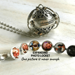 (Only 200 Pcs)--Angel Wing - Expanding Photo Locket(60%Off)