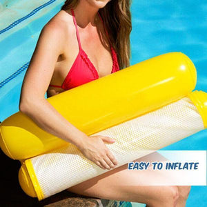 Inflatable Water Hammock Floating Bed(Buy two free shipping)