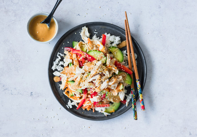 Bang Bang Chicken Salad